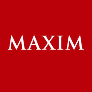 Реклама в журнале Maxim